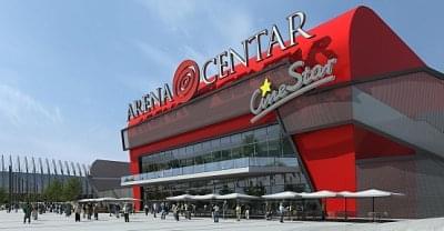 TriGánit beruházással megnyílt a zágrábi Arena Centar  0708462b1e