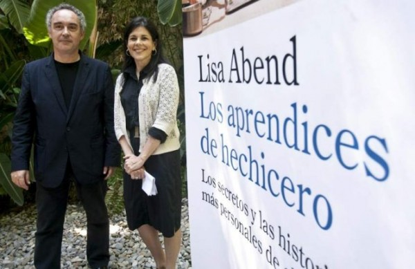 Ferran Adriá és Lisa Abend