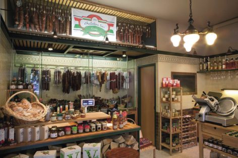 Magazine: Salami shop