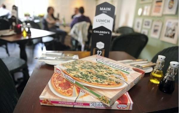 Pop-up Dr. Oetker pizzeria 1