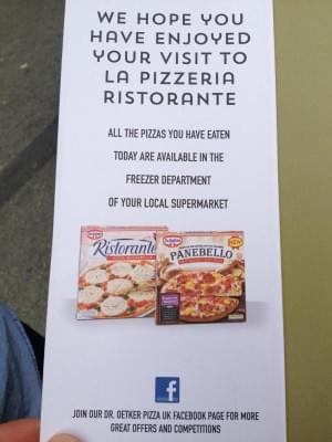 Pop-up Dr. Oetker pizzeria 2