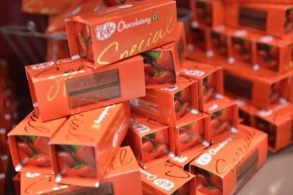 Kit Kat csokoladezo nyilt Tokioban 4
