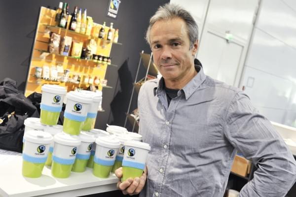 Hannes Jaenicke, a németországi Fair trade arca, egy színész, akinek fontos a világ jólléte