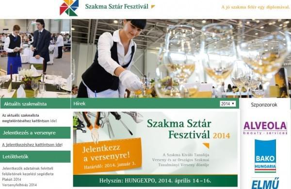 Meghivo a Szakma Sztar Fesztival 2014 versenyre