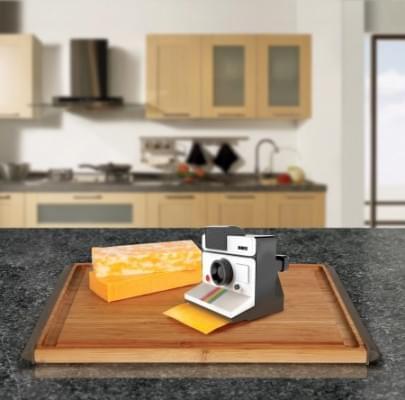 Polaroid sajtszeletelő - A nap képe 1