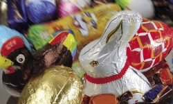 The sale of hollow chocolate figures may decrease