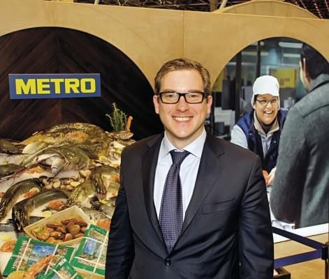 Romain Vincent beszerzési igazgató Metro
