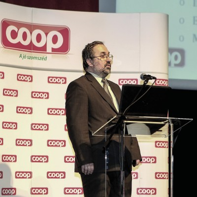 Tóth Géza, a CO-OP Hungary vezérigazgatója