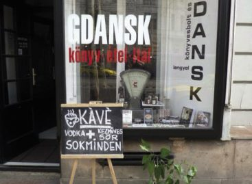 Magazin: megnyílt a Gdansk könyvesbolt és büfé
