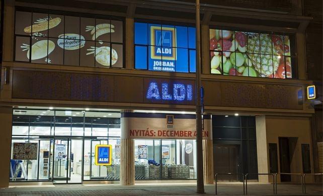 64cbe8040e Az ALDI megnyitotta 100. magyarországi üzletét   Trade magazin