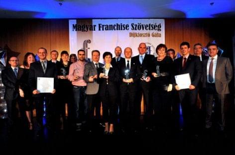 Ünnepelt a franchise szakma, kiosztották a 2014 évi franchise díjakat