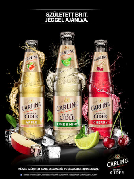 Tavaszi újdonságok a Carling British Cidertől