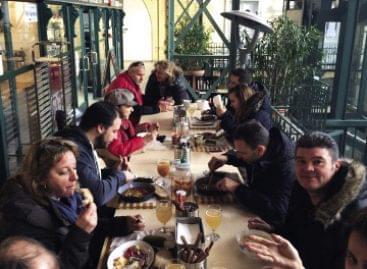 A Séf utcája  – Piaci vendéglátás piac nélkül
