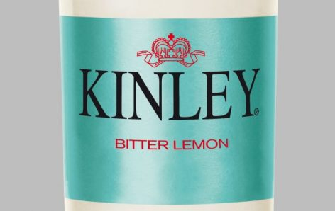 The new Kinley Bitter Lemon has arrived