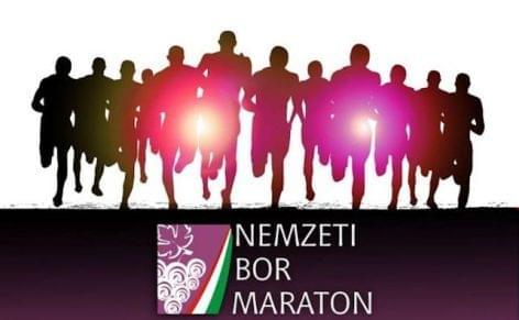 Olimpikonok a Nemzeti Bor Maratonon
