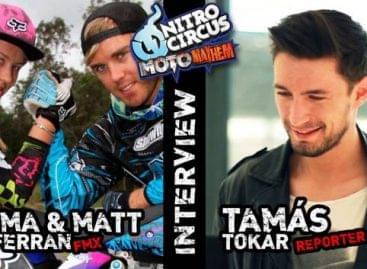 A testvérpár, Matt & Emma McFerran videointerjút adott Ausztráliából