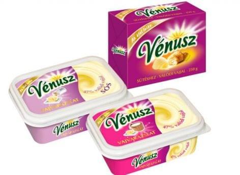 Vénusz Vajvarázslat és Vénusz Valódi Vajjal sütéshez