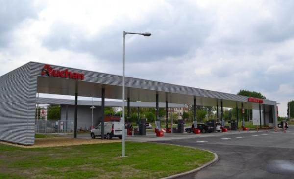 Auchan_Debrecen_toltoallomas