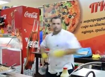 If cooking could be great for free style – Video of the day