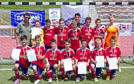 A Vasas nyerte a Danone Nemzetközi Junior Focikupa magyarországi döntőjét
