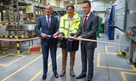 Új gyártósort avatott a HEINEKEN