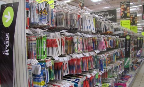 2,500 types of products in the school starting offer of Auchan