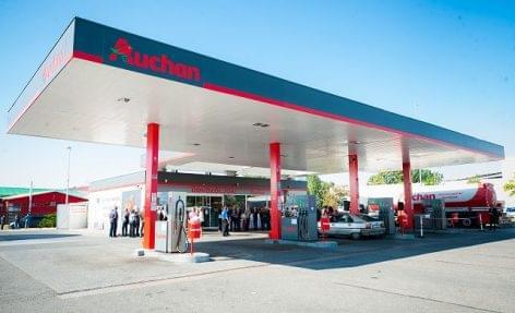 Felavatták az Auchan csepeli benzinkútját