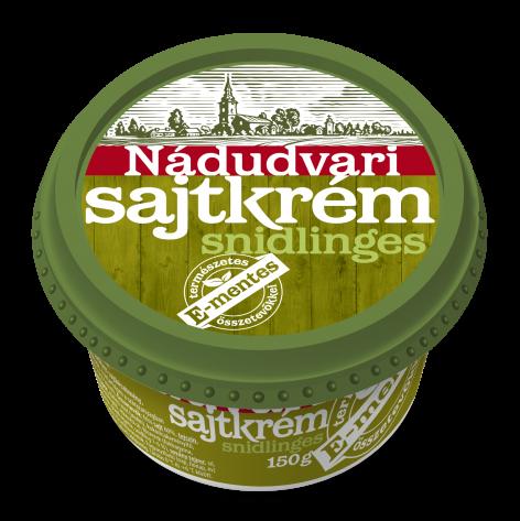 Magyar Termék Nagydíjas a Nádudvari E-mentes sajtkrém