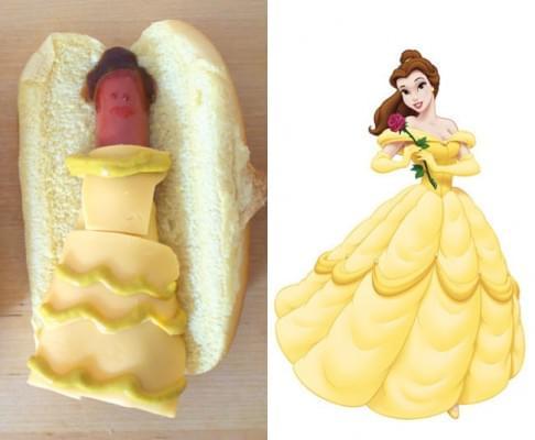Edi-bedi-sokk Disney hercegnok hot dog formaban - A nap kepe 2