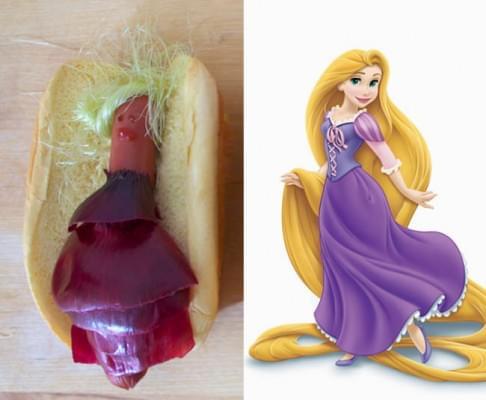 Edi-bedi-sokk Disney hercegnok hot dog formaban - A nap kepe 3