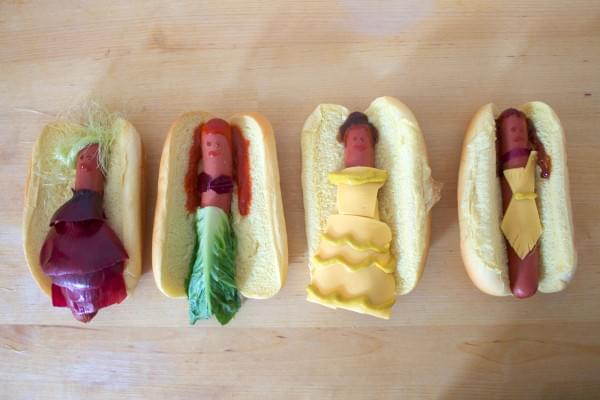 Edi-bedi-sokk Disney hercegnok hot dog formaban - A nap kepe 5