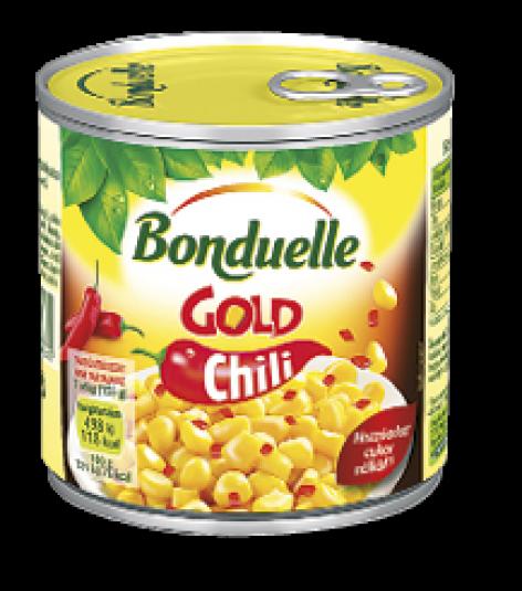 BONDUELLE Gold CHILIS kukorica (310 g)