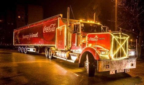 Útra kész a legendás Coca-Cola Karácsonyi Karaván