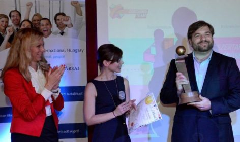 Szabó András has become the Young Leader of the Year 2015