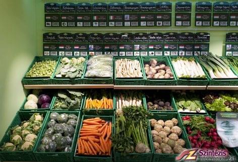 A jövő zöldség-gyümölcs üzlete Győrben is a Szintézissel nyitott