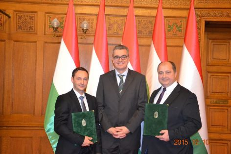 Pro Turismo díjat kapott a Magyar Vendéglátók Ipartestülete és az MNGSZ elnöke