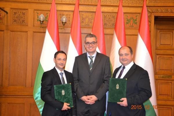 Pro Turismo dijat kapott a Magyar Vendeglatok Ipartestulete es az MNGSZ elnoke