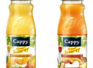 Startoljon jól a reggel!  Cappy Great Start! gyümölcsital