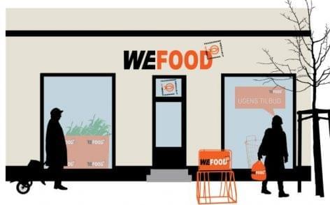 Feleslegessé vált élelmiszereket áruló bolt nyílt Dániában