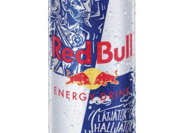 Red Bull can: Pilvaker edition