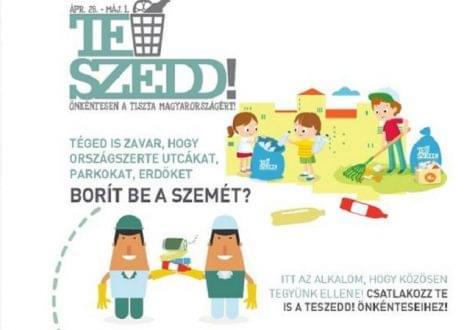 Több mint 15 ezren regisztráltak egy hét alatt az idei TeSzedd! akcióra