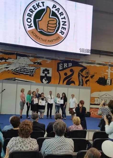 "The MIRELITE MIRSA Zrt. received a ""Fair Partner"" award"