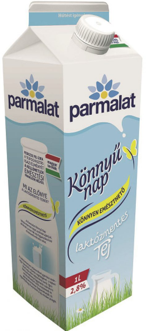 Itt a Parmalat Könnyű Nap Laktózmentes termékcsalád