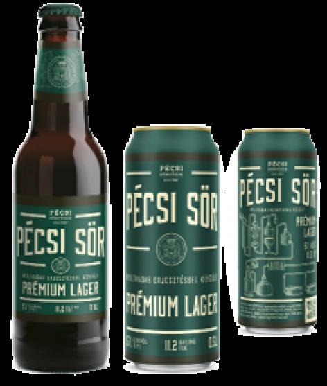 Új Pécsi Sör Prémium Lager
