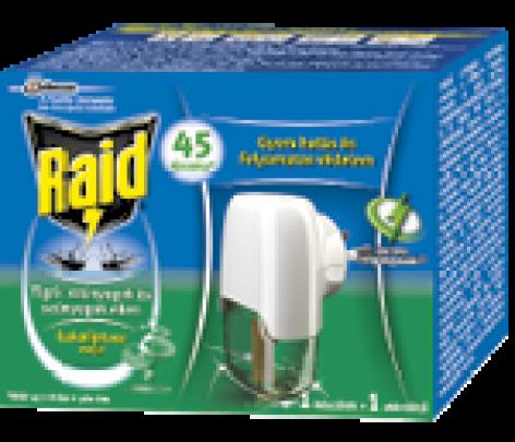 Raid® rovarirtó  termékcsalád  eukaliptusz olajjal