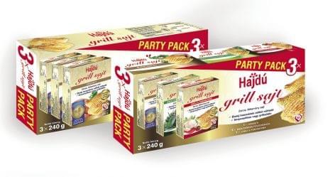 Hajdú grill sajt party pack