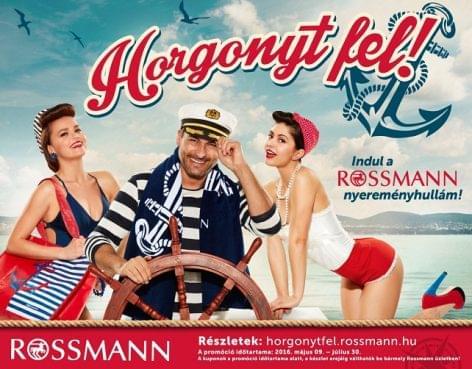 Rossmann lojalitás kampány: Horgonyt fel!