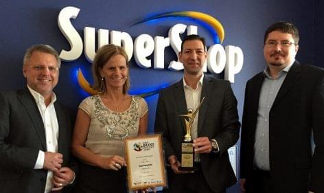 Nemzetközi díjat kapott a SuperShop törzsvásárlói program