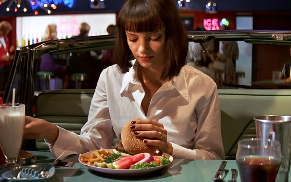 A szep no es a hamburger - A nap kepe 12