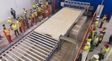 Elindult a gyártás az Interspan Kft. új vásárosnaményi üzemében